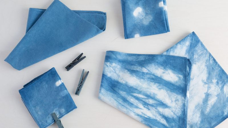 Creativebug Online Dyeing with Natural Indigo class with Kristine Vejar from A Verb for Keeping Warm