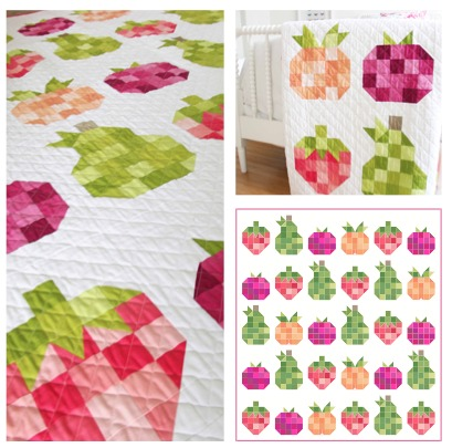 Fruit Salad Ombre Fabric Quilt Textillia Online sewing community and database