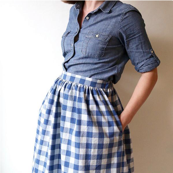 Cleo Skirt Textillia Online Sewing Community And Database