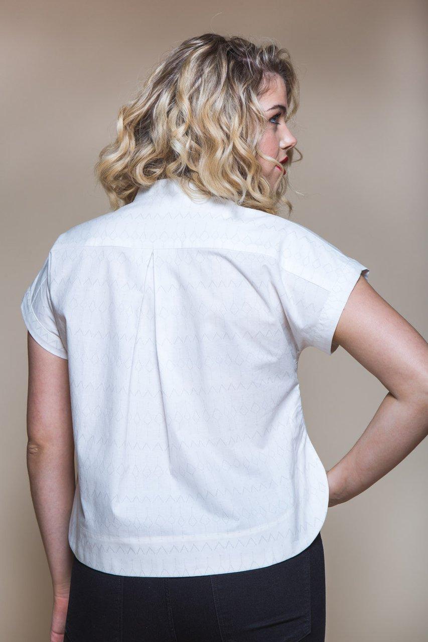 Kalle Shirt Shirtdress Textillia Online Sewing