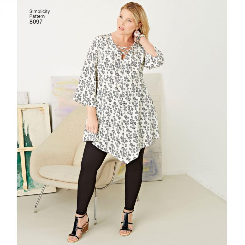 Plus Size Tunics and Leggings