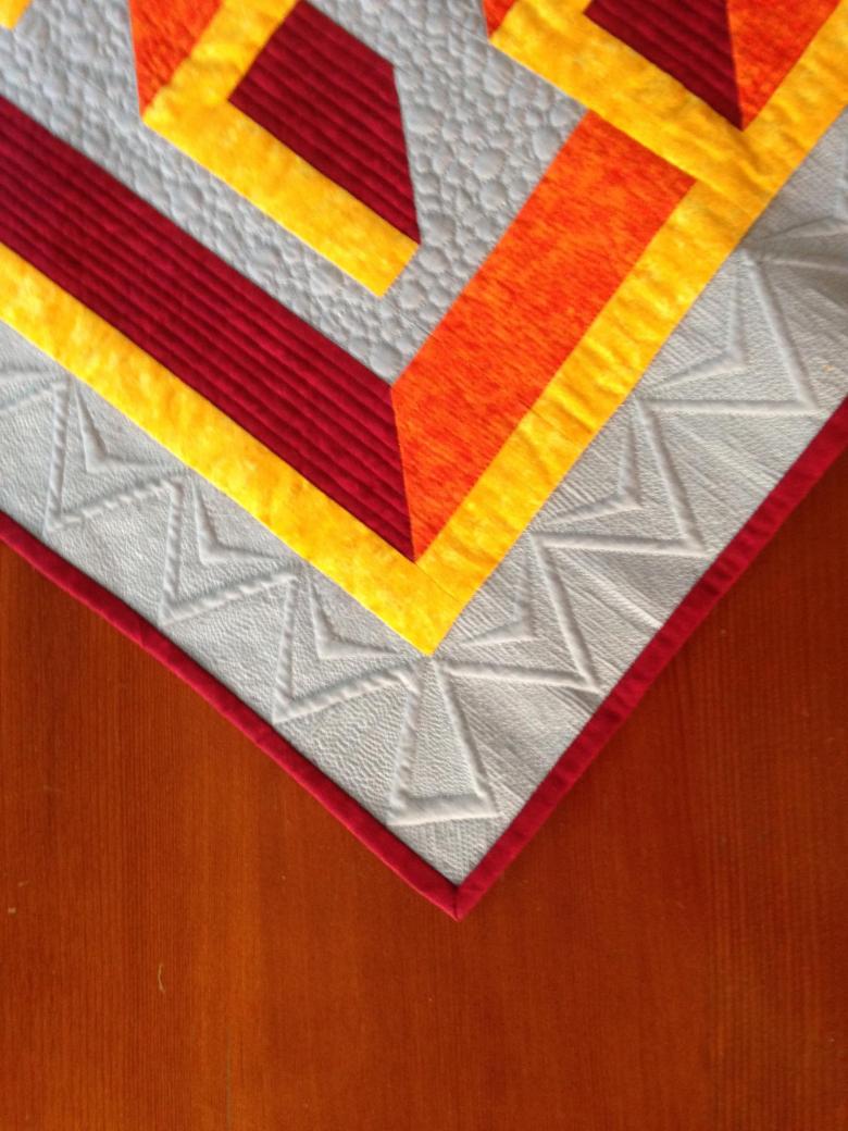 3D Maze Quilt Pattern - Hidden Paths   Textillia