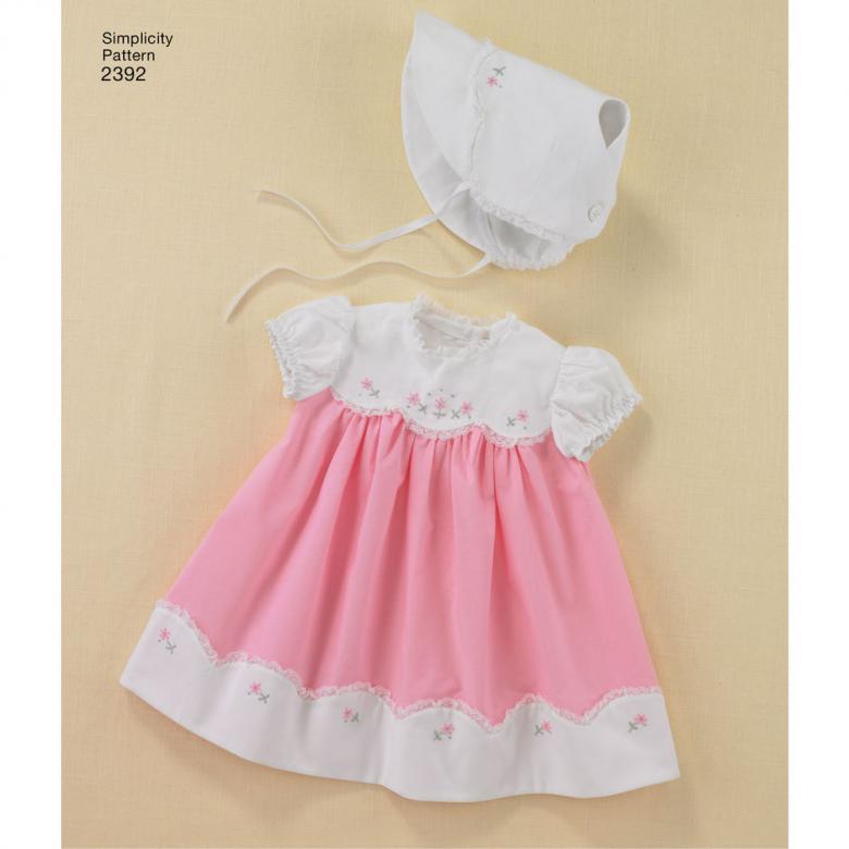 2392   Babies' 1950's Vintage Layette   Textillia