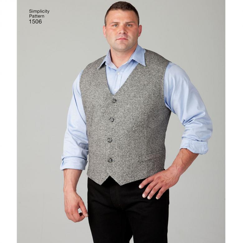 1506 | Husky Boys' & Big & Tall Men's Vests | Textillia