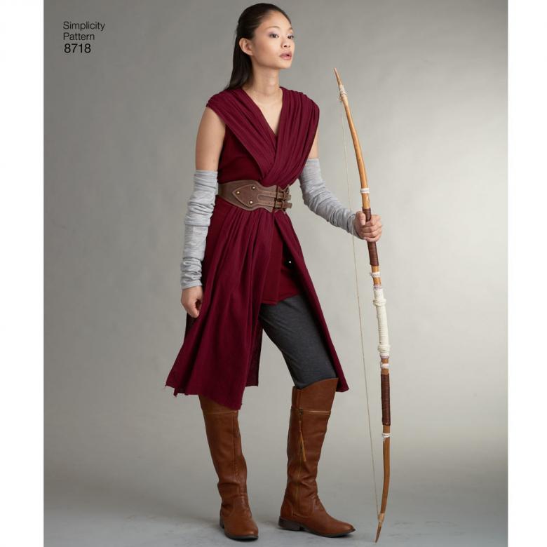 6cc0424a2 8718 | Misses' Warrior Costumes | Textillia