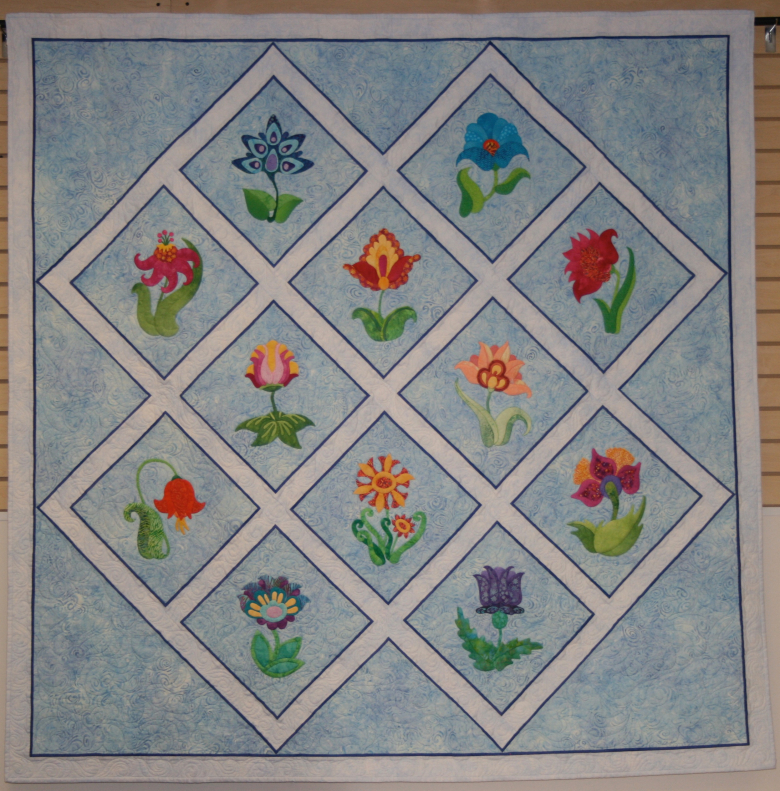 Plant Your Own Garden SewforeverQuiltingbyBeckyCampbell