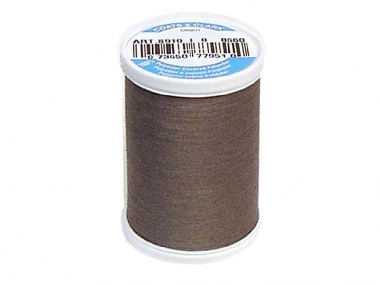 spool of brown thread