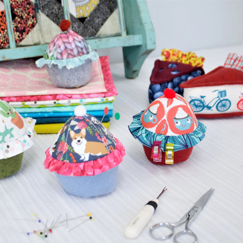 group of pincushions