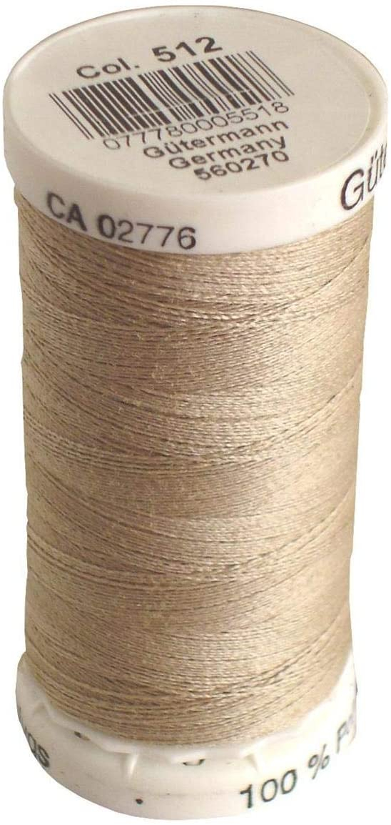 spool of thread in colorway 512 (putty)