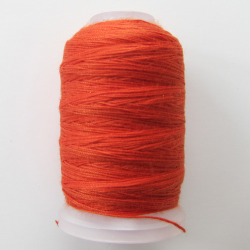 Jeans Stitch Thread cone in burnt orange